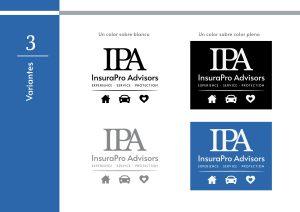 IPA InsuraPro Advisors -- Manual de marca