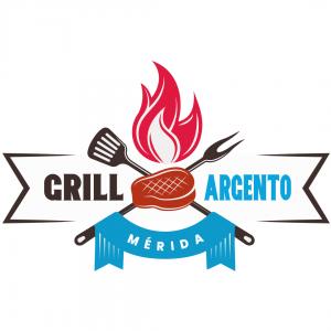 Grill Argento - Comida Argentina en Merida Yucata - Diseño de Logo